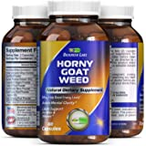 Horny Goat Weed Complex [] 1000 mg Pure Horny Goat Weed Extract with Tongkat Ali Root Powder [] 100% Pure and Natural Maca Root Extract [] Pharmaceutical Grade Maca Root Powder [] Effective and Potent Herbal Supplement for Increased Stamina [] Rapid Release Capsule Improves Energy Levels and Stamina [] Made in the USA [] Guaranteed by Biogreen Labs