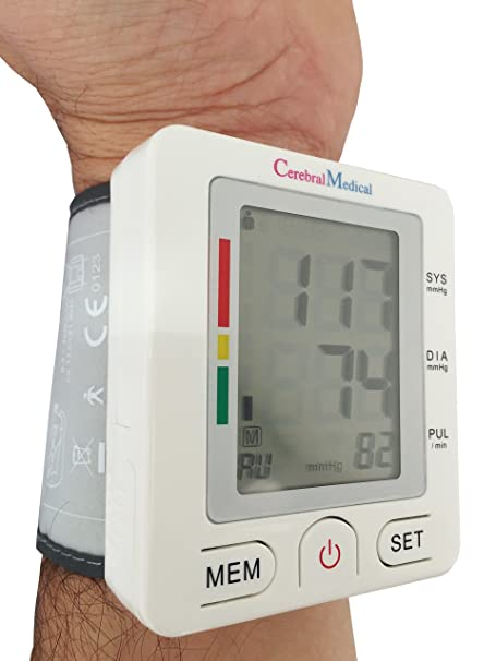 Amazon.com: Wrist Blood Pressure Monitor -Doctor tested & endorsed; Accurate Blood Pressure Readings, Detects Irregular Pulse & Heart Rates, High & Low BP.