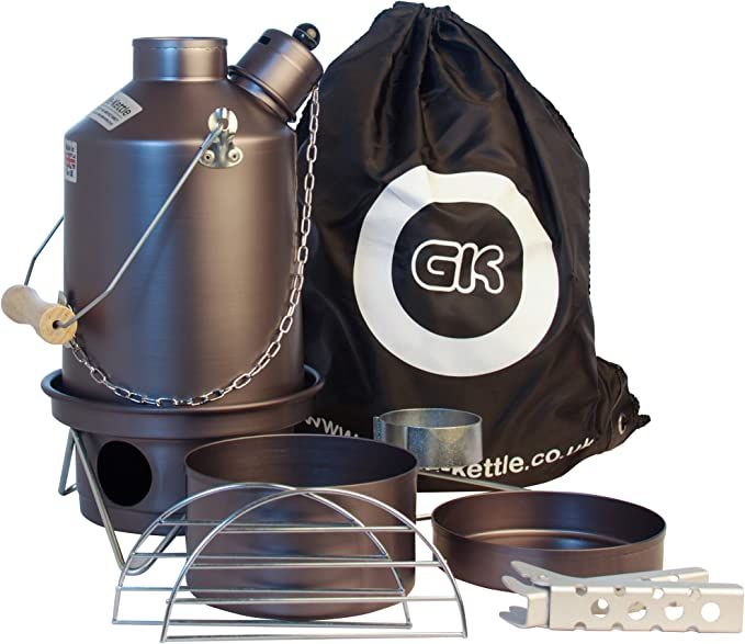 Ghillie Kettle Cook Kit Small Silver Anodised