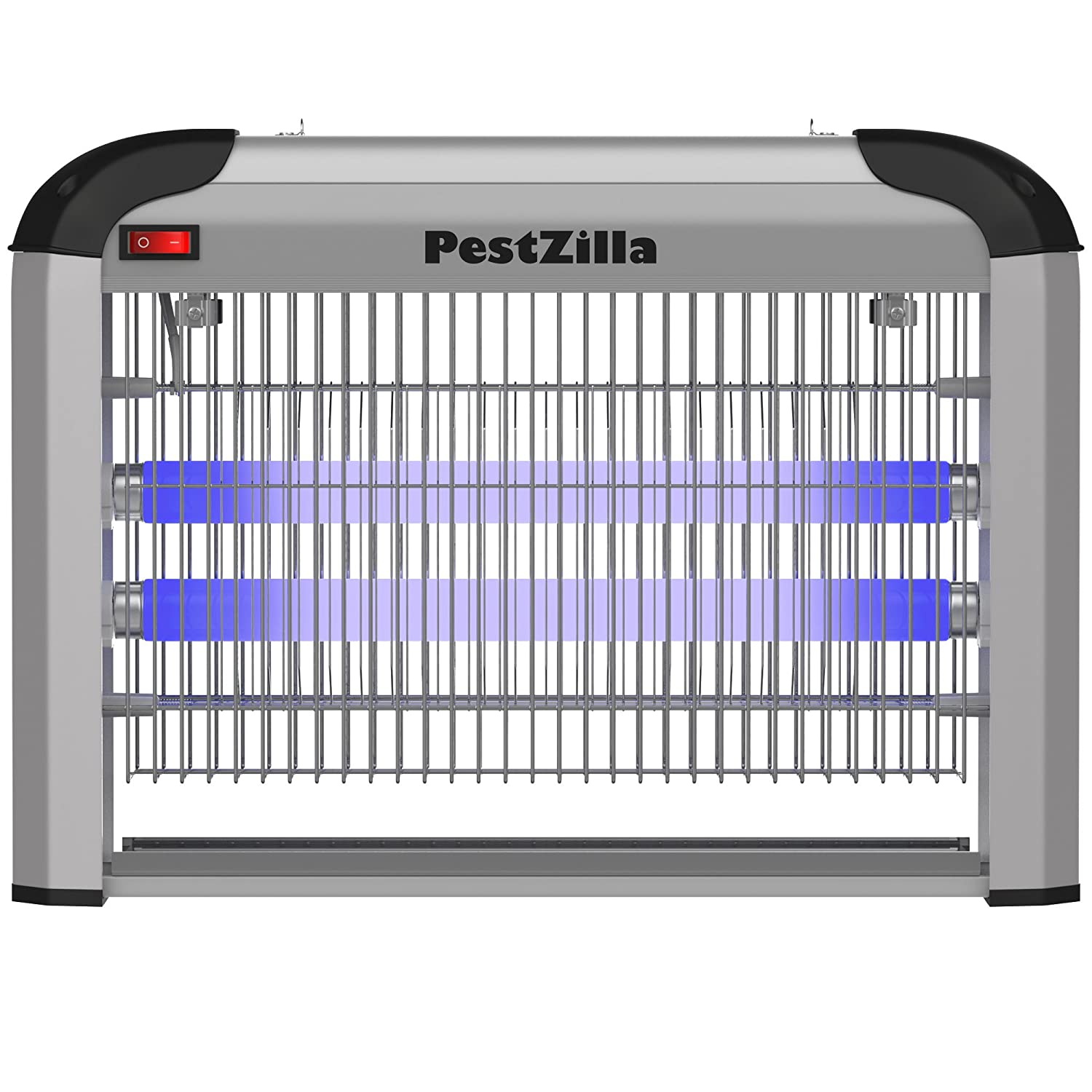 PestZilla Robust UV Electronic Bug Zapper Fly Zapper Killer Trap Pest Control– Protects Up to 6,000 Sq. Feet/for Indoor Use – Kills Flies, Mosquitoes, Insects, Etc – Enjoy an Insect Free Environment