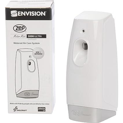 Abilityone Skilcraft Zep Meter niebla 3000 dispensador de control de olor, blanco, GSA 4510014264187
