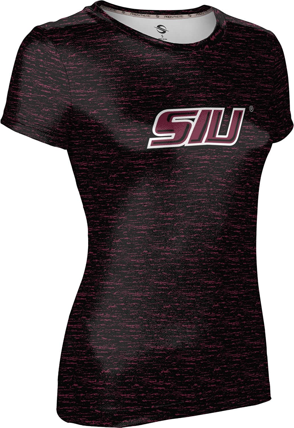 ProSphere Southern Illinois University Mens Long Sleeve Tee Topography