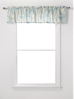 Cu0026F Home Natural Shell Standard Valance 72 X 15.5 Inch