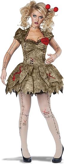 Disfraz sexi de muñeca vudú para adultos: Amazon.es: Juguetes y juegos