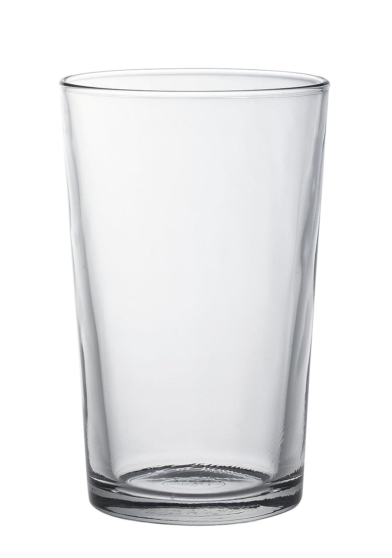Conjunto de 6 sencillos vasos de cristal Duralex.