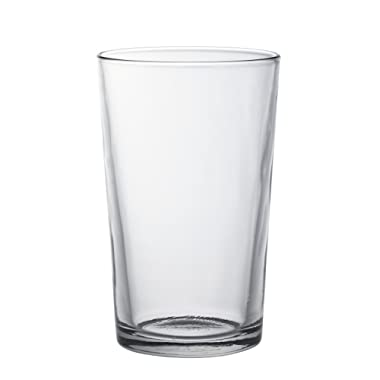 Duralex Made In France Unie Glass Tumbler (Set of 6) 11.5 oz, Clear