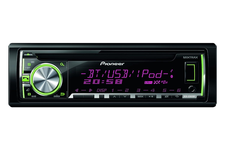 Pioneer DEH-X5600BT CD-Tuner mit Bluetooth schwarz: Amazon.de ...