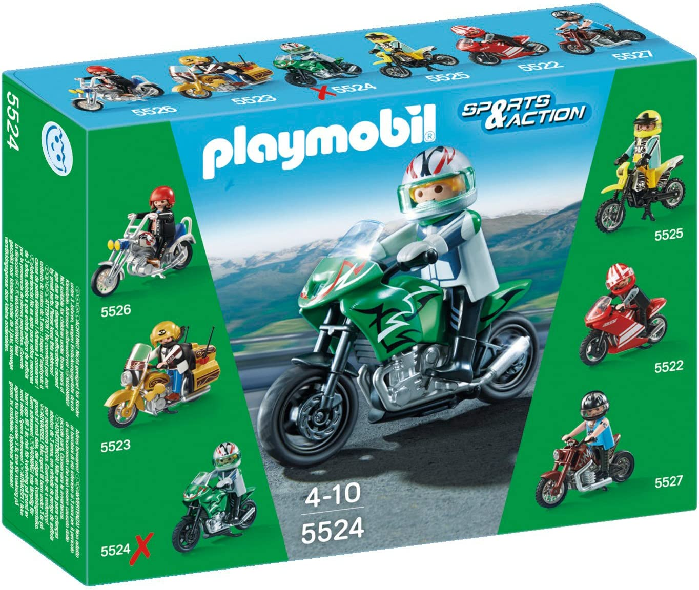 Playmobil Coleccionables - Sports & Action Moto Deportiva Playsets ...