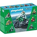 Playmobil Coleccionables - Playset moto deportiva (5524)