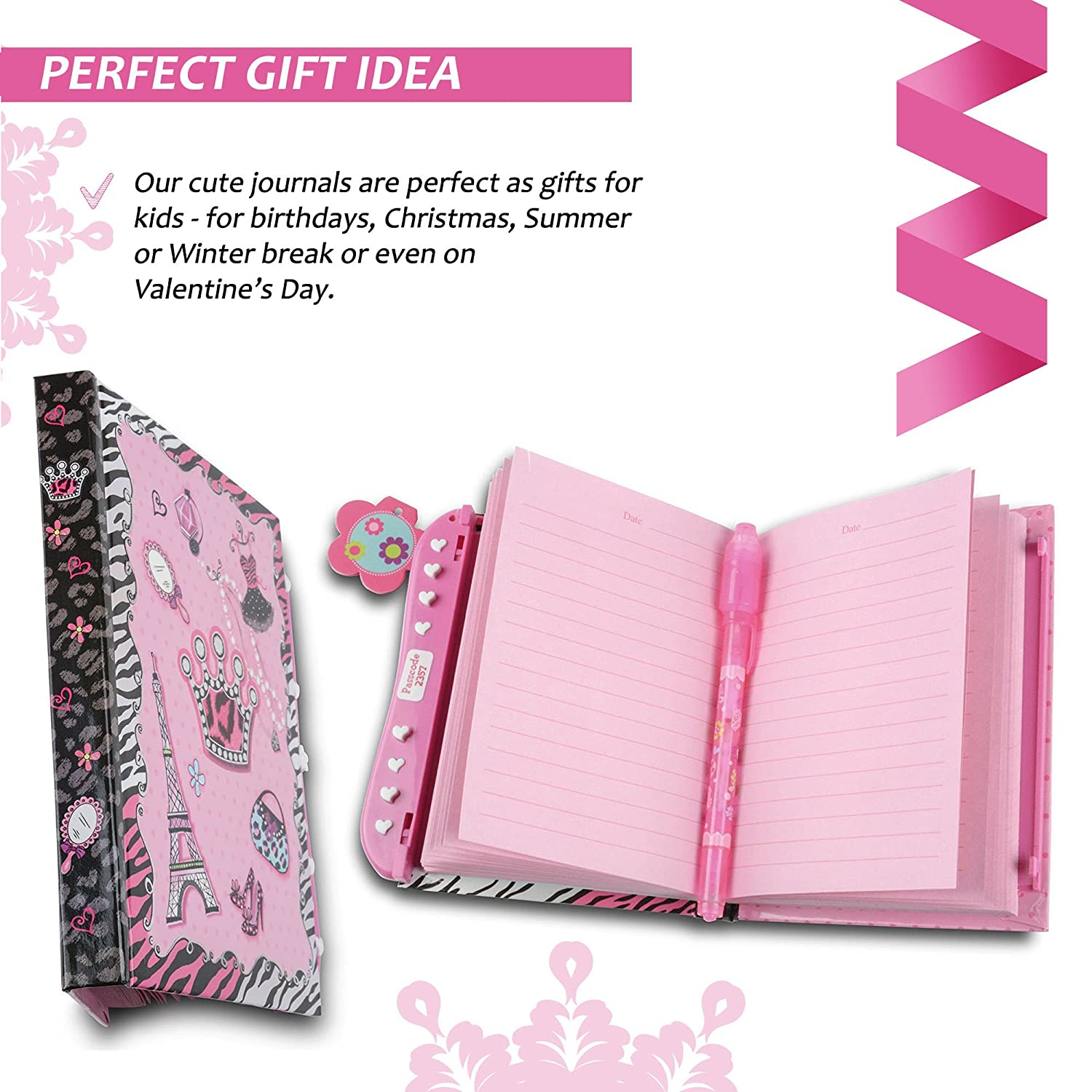 Amazon Journals for Girls 5 6 7 8 9 10 Year Old Secret