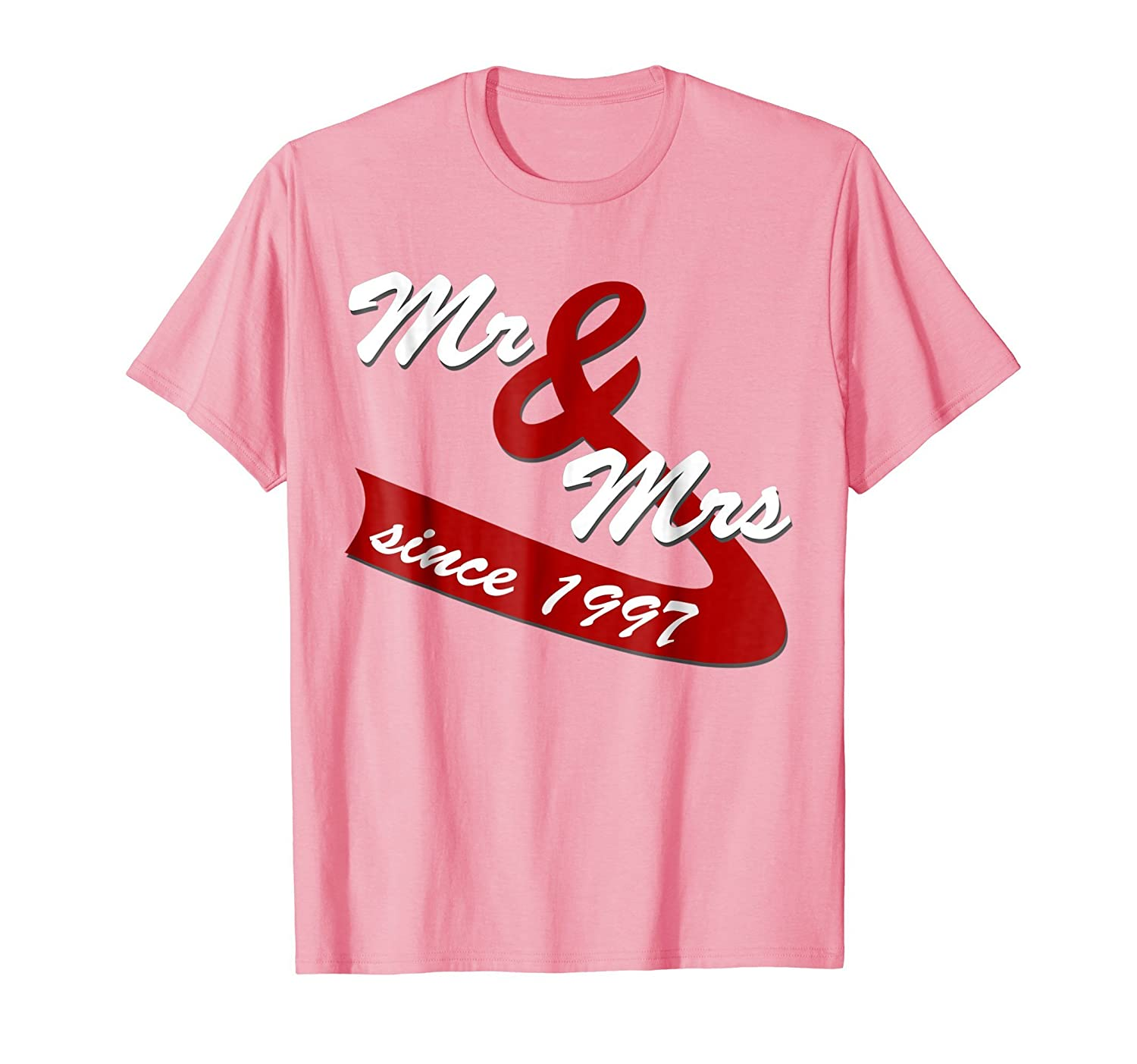 Amazon.com: 21st Wedding Anniversary Gift Ideas Couples T shirt ...