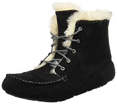 UGG Women's Chickaree Black Suede Boot 5 B ...