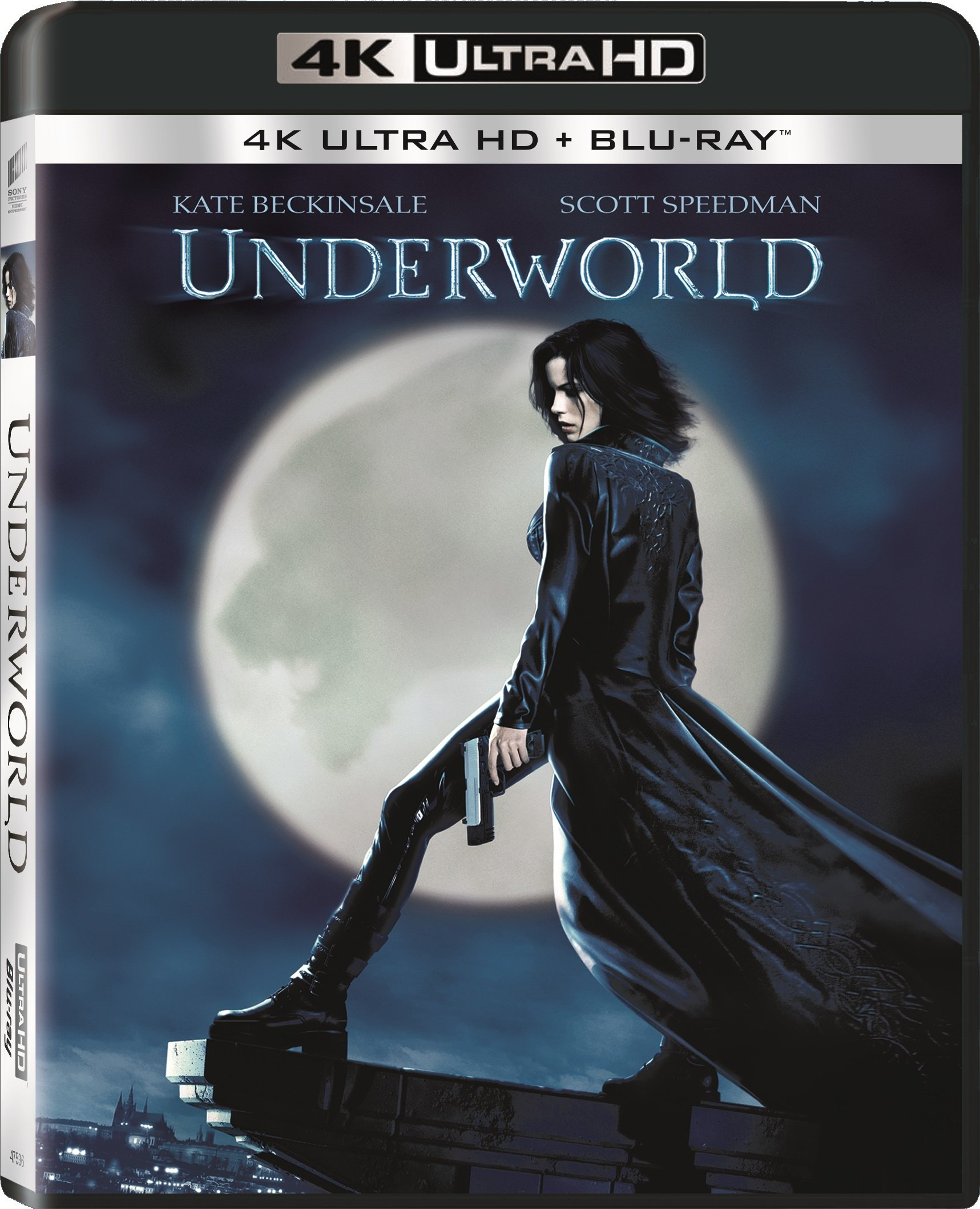 4K Blu-ray : Underworld (With Blu-Ray, Ultraviolet Digital Copy, 2 Pack, Dubbed, )