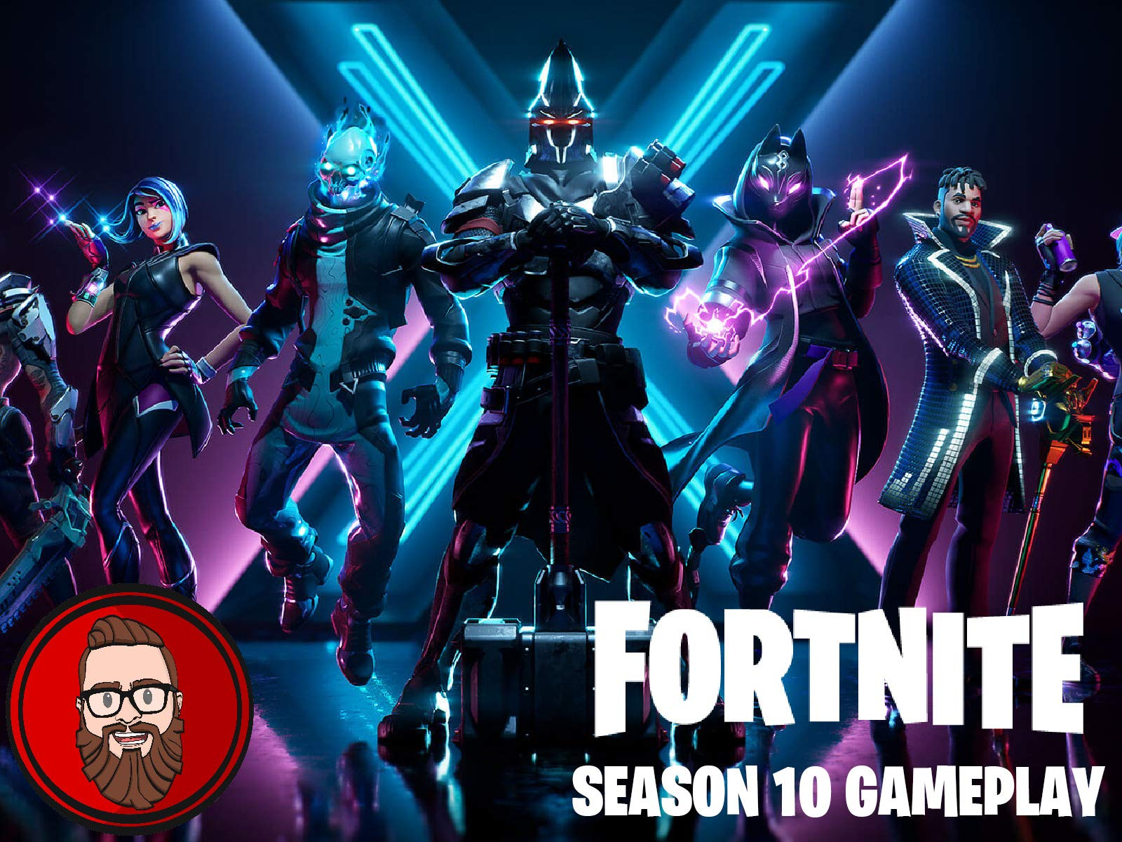 Watch Clip: Fortnite The Red Ninja Season 8 Gameplay | Prime ...