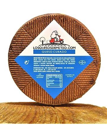 Queso de oveja curado gourmet (español, sabor profundo, ideal con vino, queso