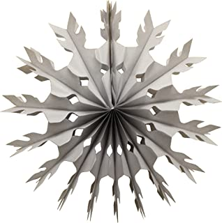 product image for Devra Party 6-Pack 15 Inch Tissue Paper Snowflake (Gray)