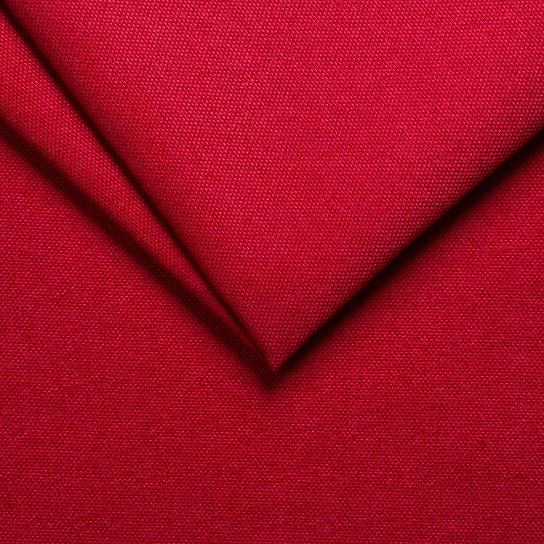 4 Pcs Lot de Coussins de Chaise Ronde Cuisine Salon Jardin avec Housse galette de chaise d/éhoussable coussin decoratif deco galette pour Siege bistrot chaise exterieur interieur Rouge 45x45 cm