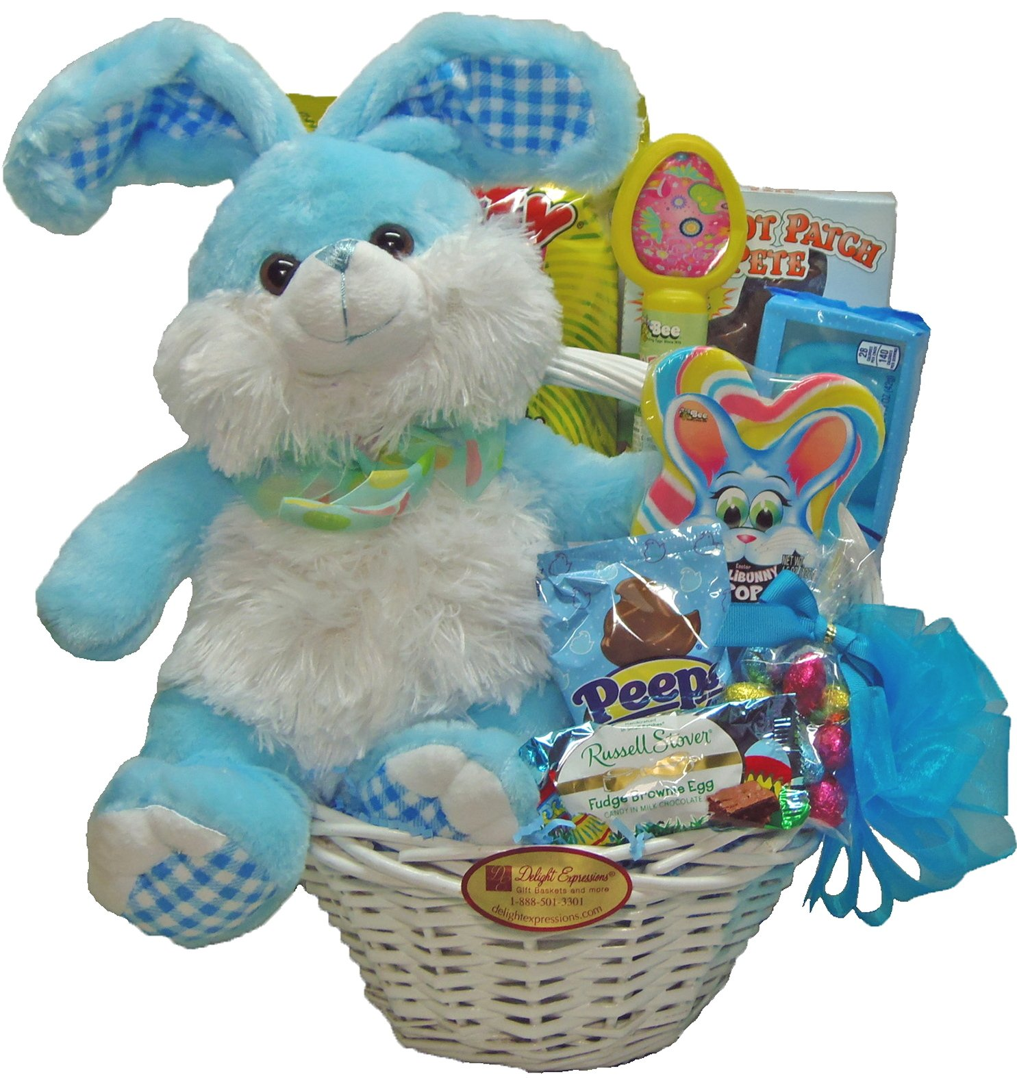 Amazon delight expressions easter bunny easter gift basket delight expressions easter bunny easter gift basket for kids easter gift basket for negle Gallery