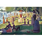 Sunday Afternoon on the Island of La Grande Jatte by Georges Seurat Art Print, 30 x 20 inches