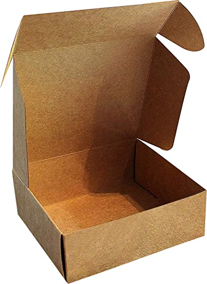 Kraft Cajas de Regalo (Pack de 20) - 13x12x5cm Marrón Kraft Papel ...