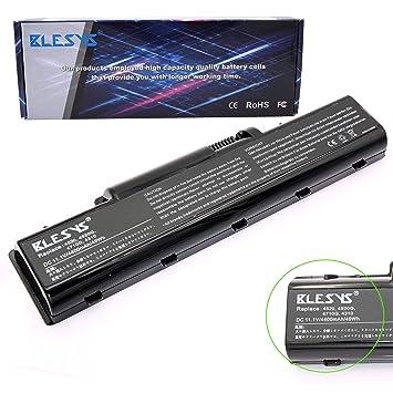 BLESYS Batería para portátil Compatible con Acer Aspire 5536 5536g 5542 5735 5735z 5738 5738dzg 5738g
