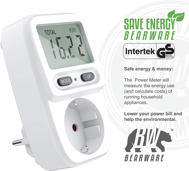 CSL - Medidor de Costes de Energía - Medidor de Consumo de Energía ...