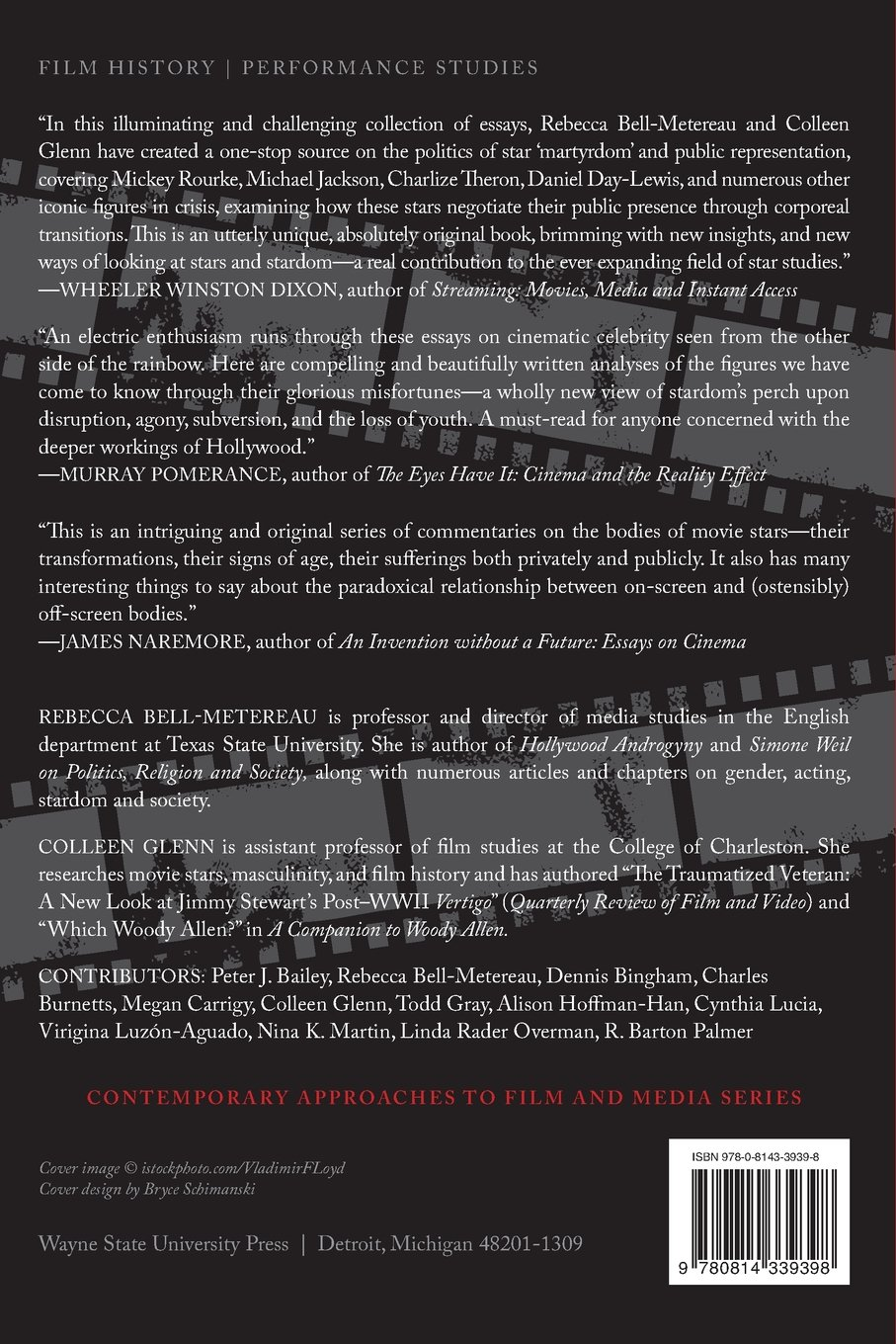 com star bodies and the erotics of suffering contemporary  com star bodies and the erotics of suffering contemporary approaches to film and media series 9780814339398 rebecca bell metereau