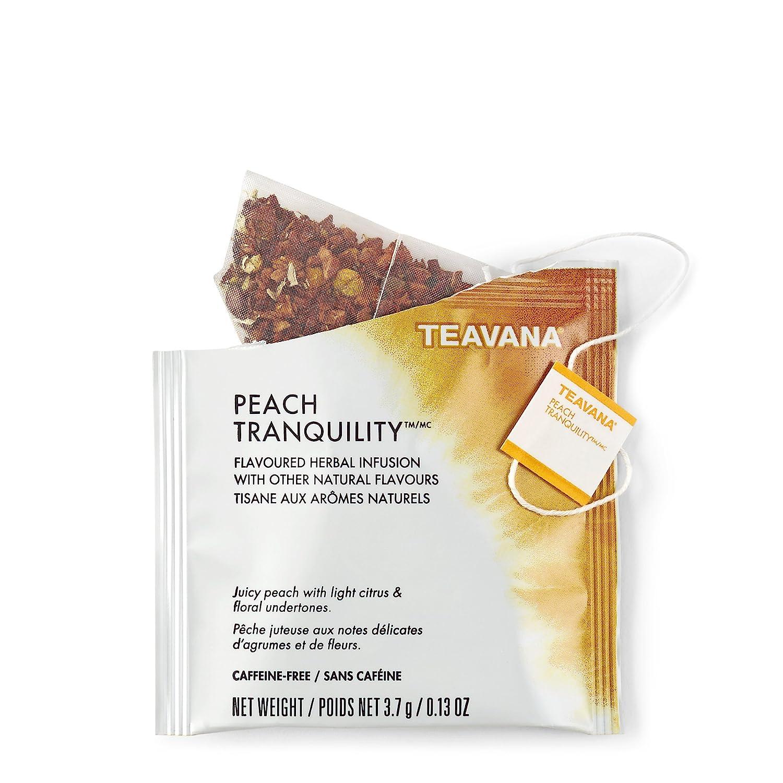 Teavana Peach Tranquility Full Leaf Tea 12 Sachets (0.13 oz / 3.7 g )