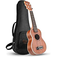 Hricane Soprano Ukulele UKS-1 21inch Professional Ukulele Starter Small Guitar