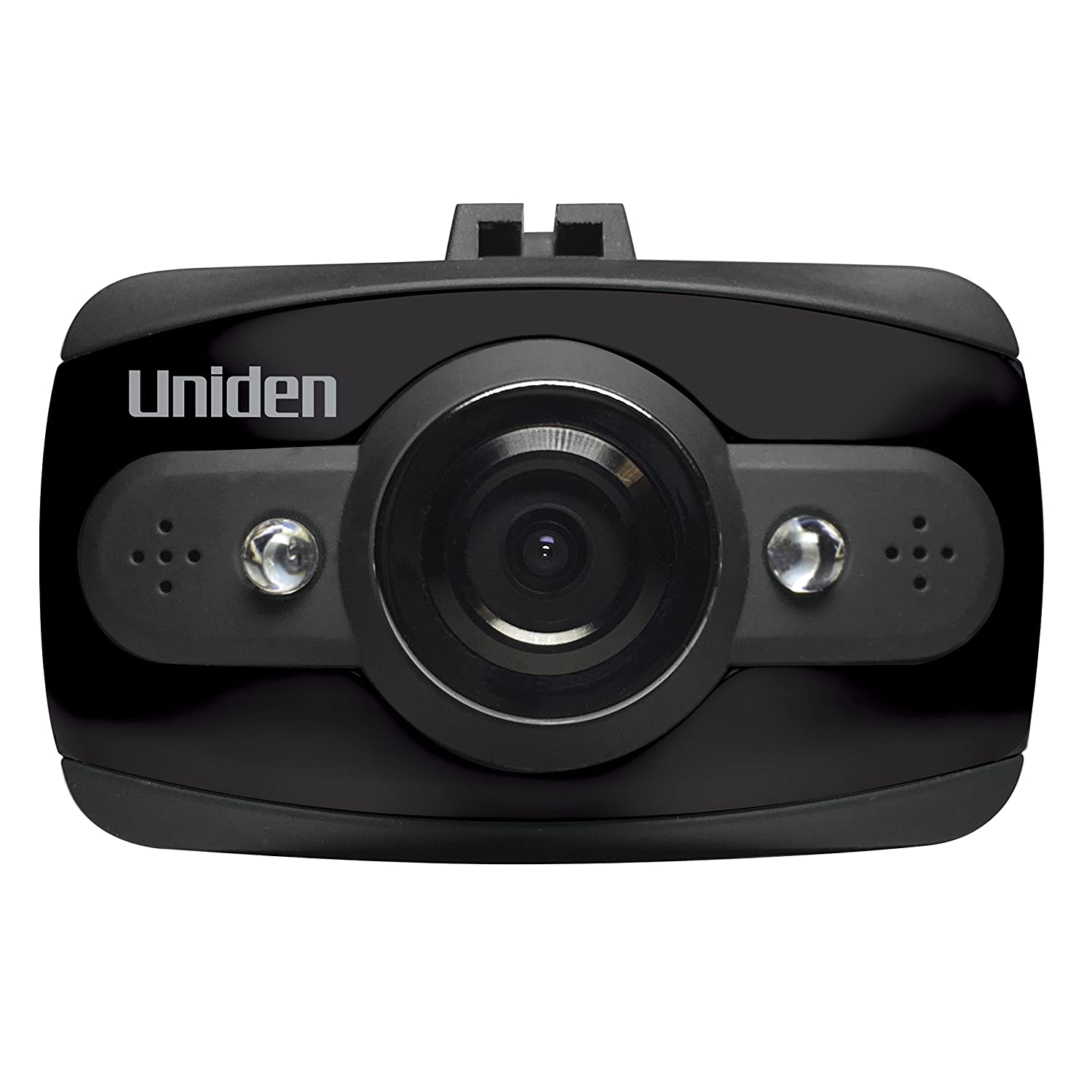 Uniden DCAM Dash Cam, 1080P HD Night Vision Dash Camera, Automotive Video Recorder, 120 Degree View Angle, Collision Detection Mode