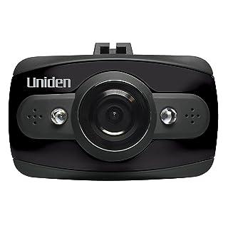 Uniden DCAM Dash Cam, 1080P HD Night Vision Dash Camera, Automotive Video Recorder, 120 Degree View Angle, Collision Detection Mode