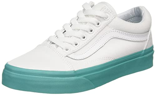 fc36761f6c Vans Unisex Green Old Skool Lace-Up Sneakers-UK 6  Buy Online at Low Prices  in India - Amazon.in