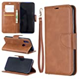 Lomogo Xiaomi Redmi 7 / Y3 Case Leather Wallet Case with Kickstand Card Holder Shockproof Flip Case Cover for Xiaomi Redmi7 / Redmi Y3 - LOBFE150648 Brown