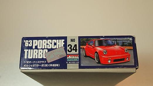 1/32 `94 Porsche 911 Turbo (Model Car) Micro Ace(Arii) Owners Club|No.34 (japan import): Amazon.es: Juguetes y juegos