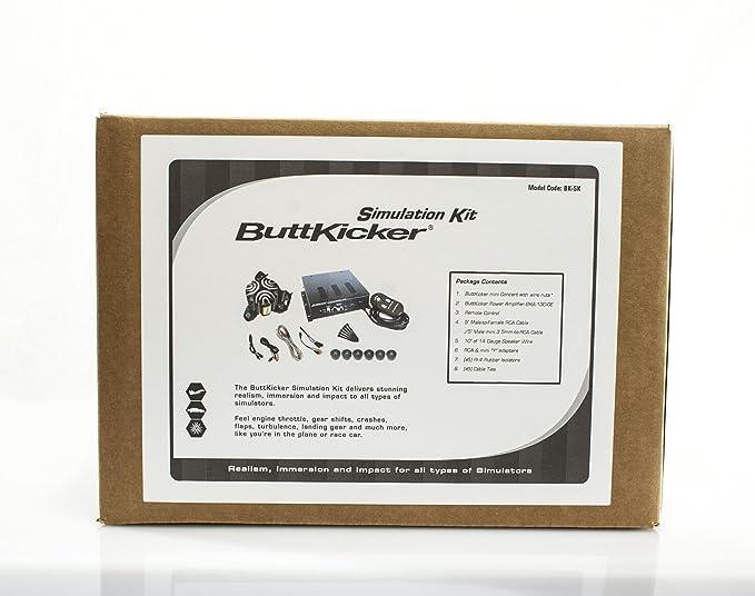 Amazon com: ButtKicker Simulation Kit: Home Audio & Theater