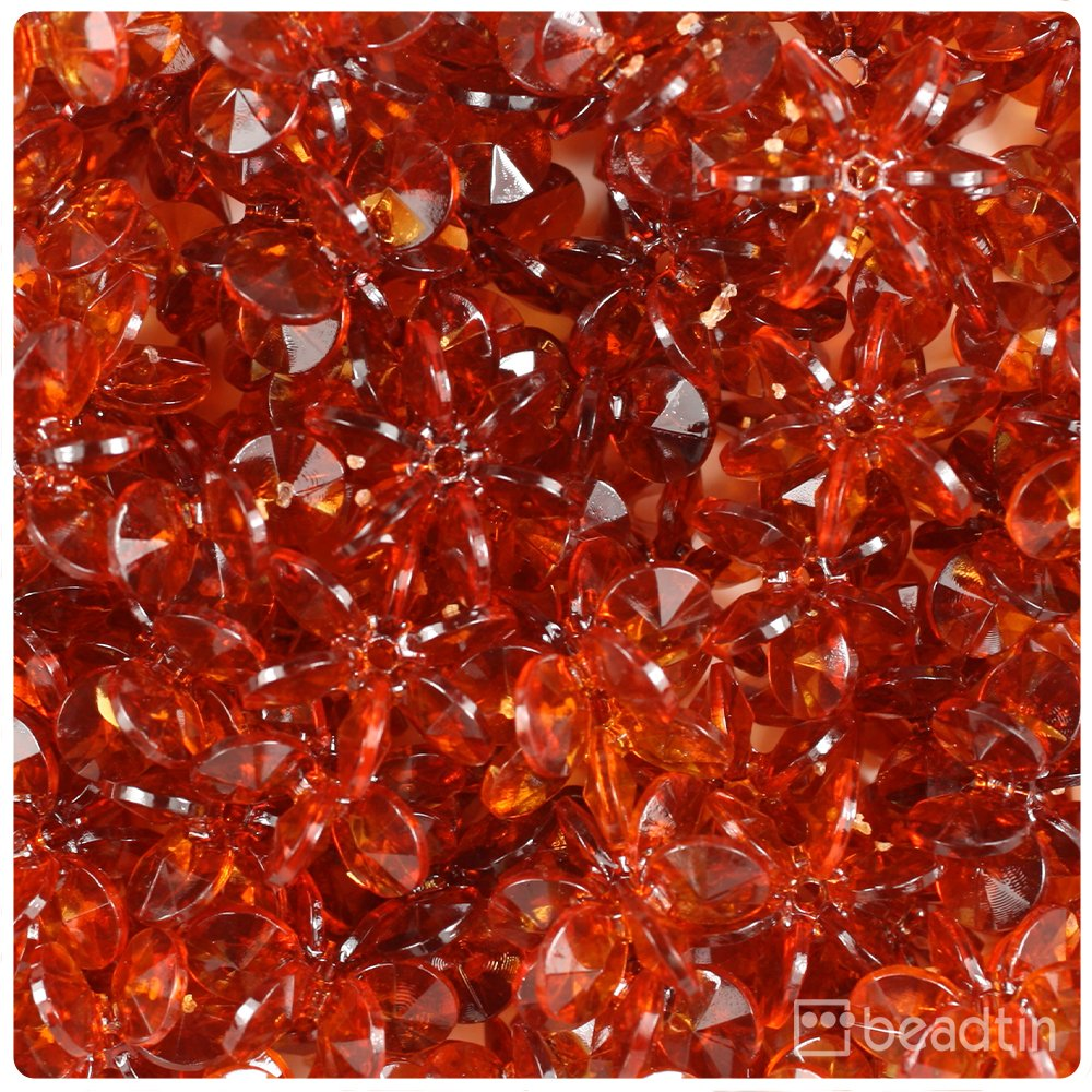 Color choice BeadTin Frosted 18mm SunBurst Craft Beads 150pcs