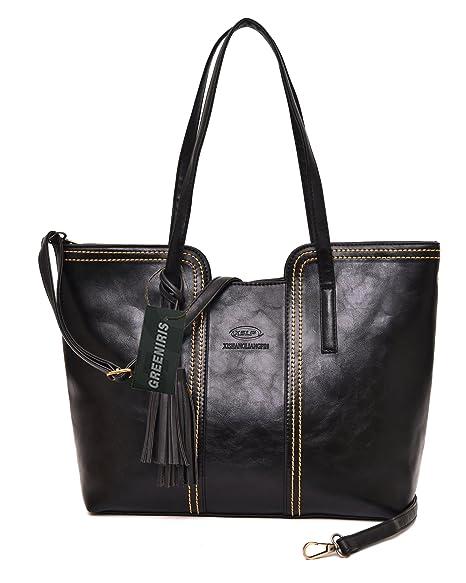 Greeniris Small PU Leather Cross Body Bag Shoulder Bag