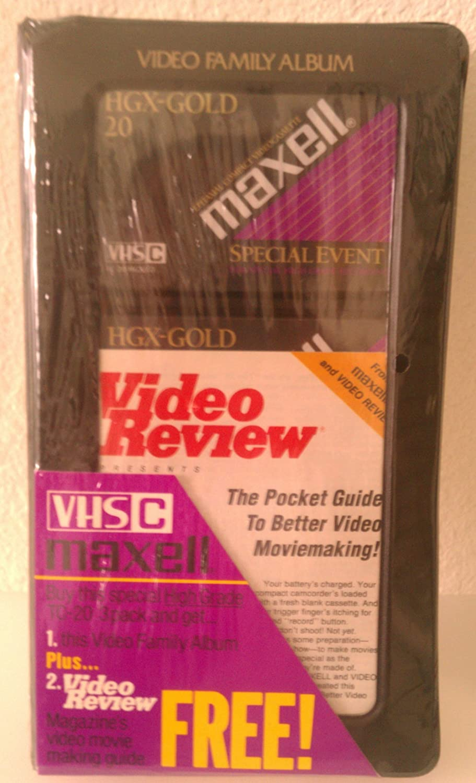 Maxell VHS-C 3 Pack HGX-Gold TC-20's