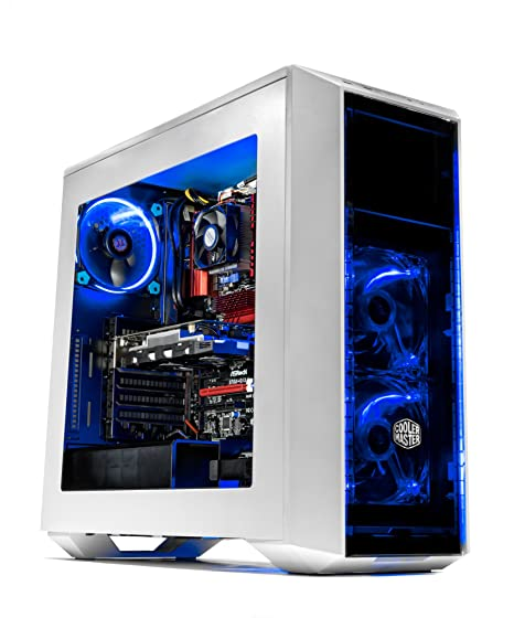 SkyTech Oracle - Gaming Computer PC Desktop - AMD FX-6300 3 5 GHz, 120GB  SSD, GTX 1050 TI 4GB, 1TB HDD, 16GB DDR3, 970 Chipset Motherboard, Windows  10