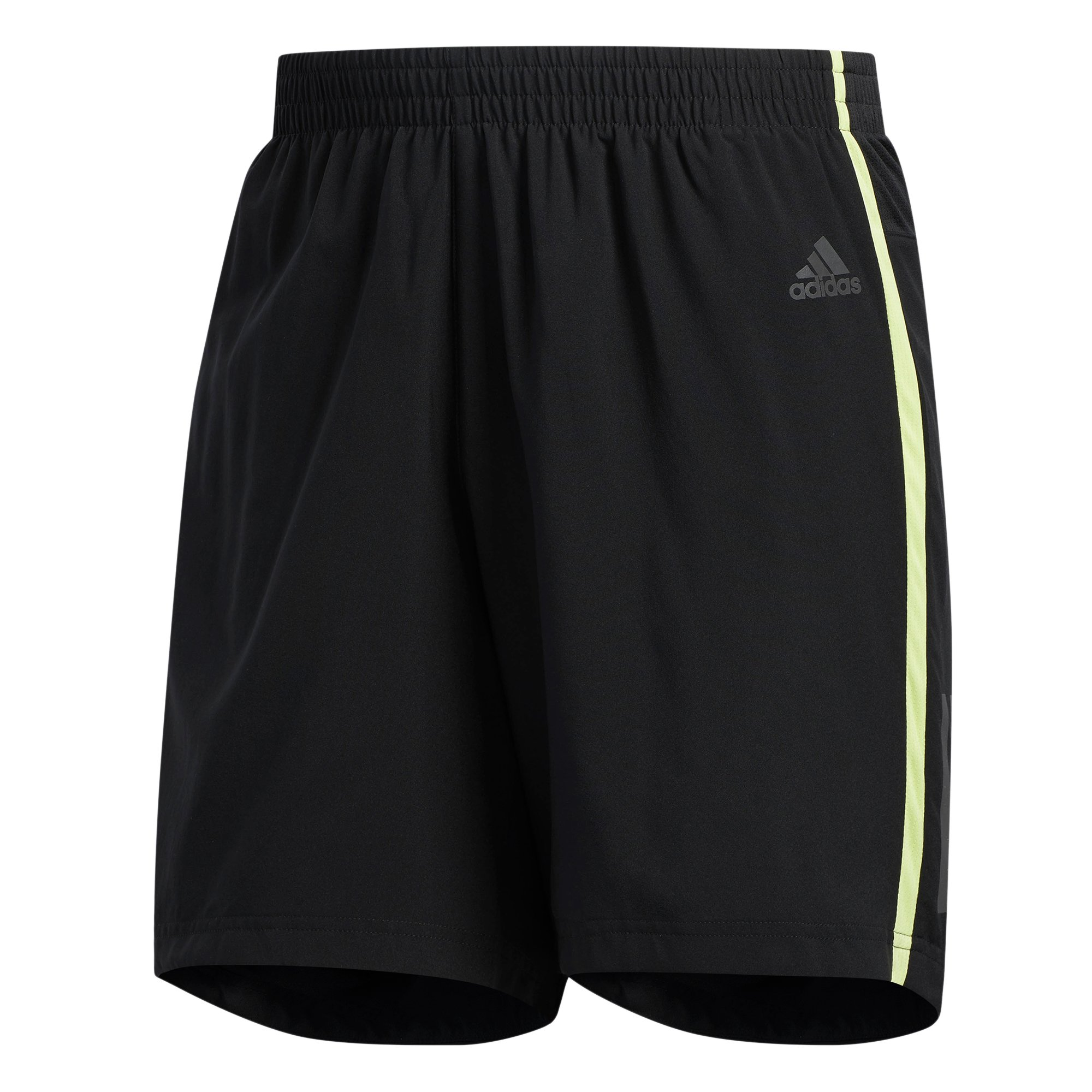 adidas Men's Response 5'' Shorts Black/Semi Frozen Yellow X-Large 5