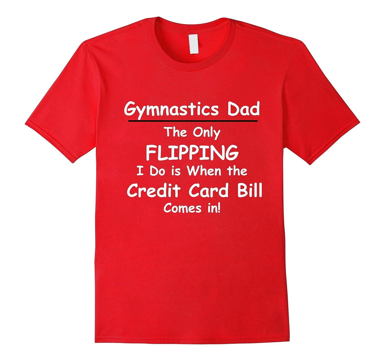 Mens Gymnastics Dad Funny Gymnast Tshirt-TD
