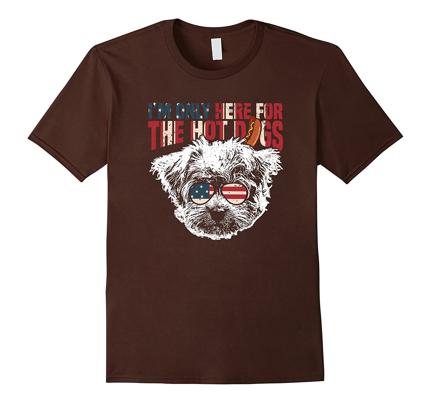 Maltese Shirt Funny 4th of July Pup Tee-TH