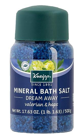 Kneipp Mineral Bath Salt, Dream Away, Valerian & Hops, 17 63 fl  oz