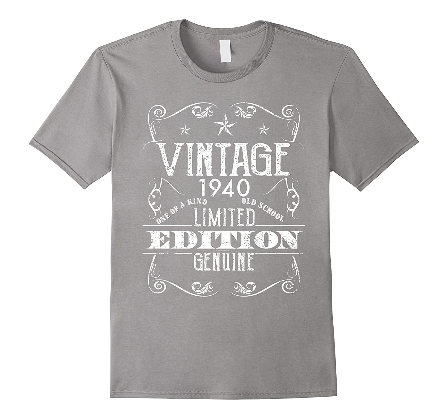 1940 Vintage One Of A Kind Happy Birthday Shirt-RT