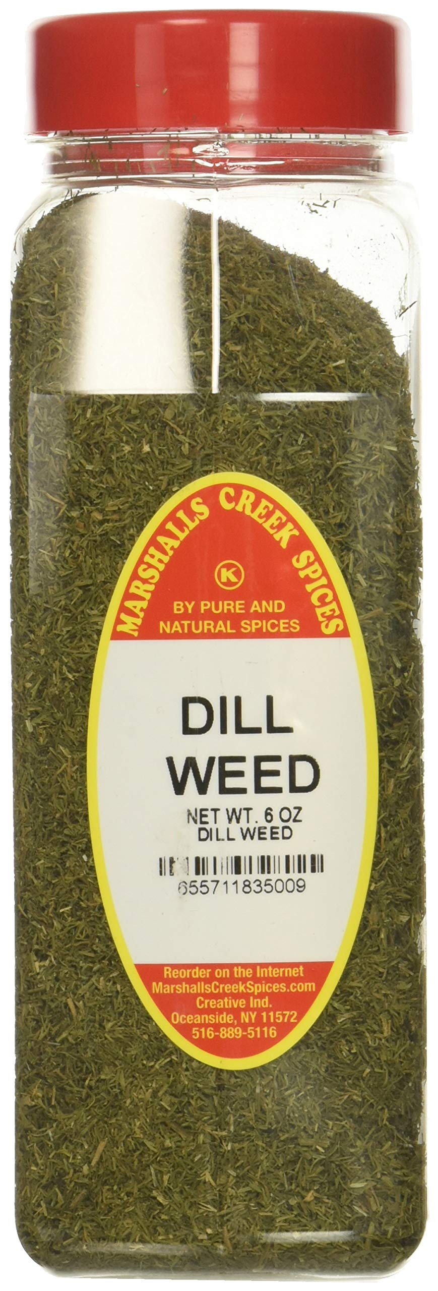 Marshalls Creek Spices XL Size Marshalls Creek Spices Dill Weed 6 Ounce , 6 Ounce