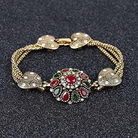 34969a6e2cc490 Amazon.com: Meenanoom Turkish Hurrem Style Mixed CZ Rhinestones ...