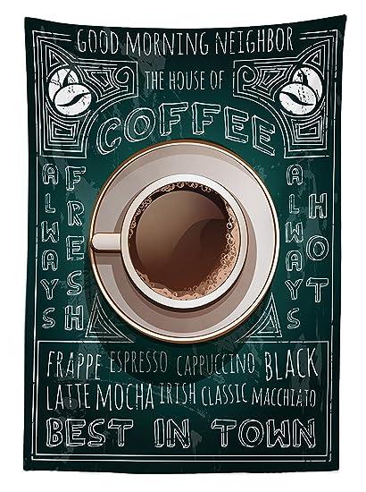 vipsung Café Decor Mantel Taza de café de Pizarra menú Mejor ...