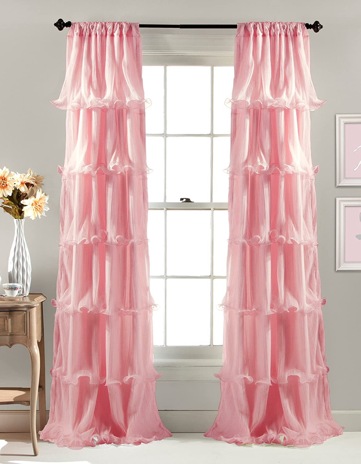 drapes set blackout ip walmart eclipse thermaliner panels pink curtain com light of