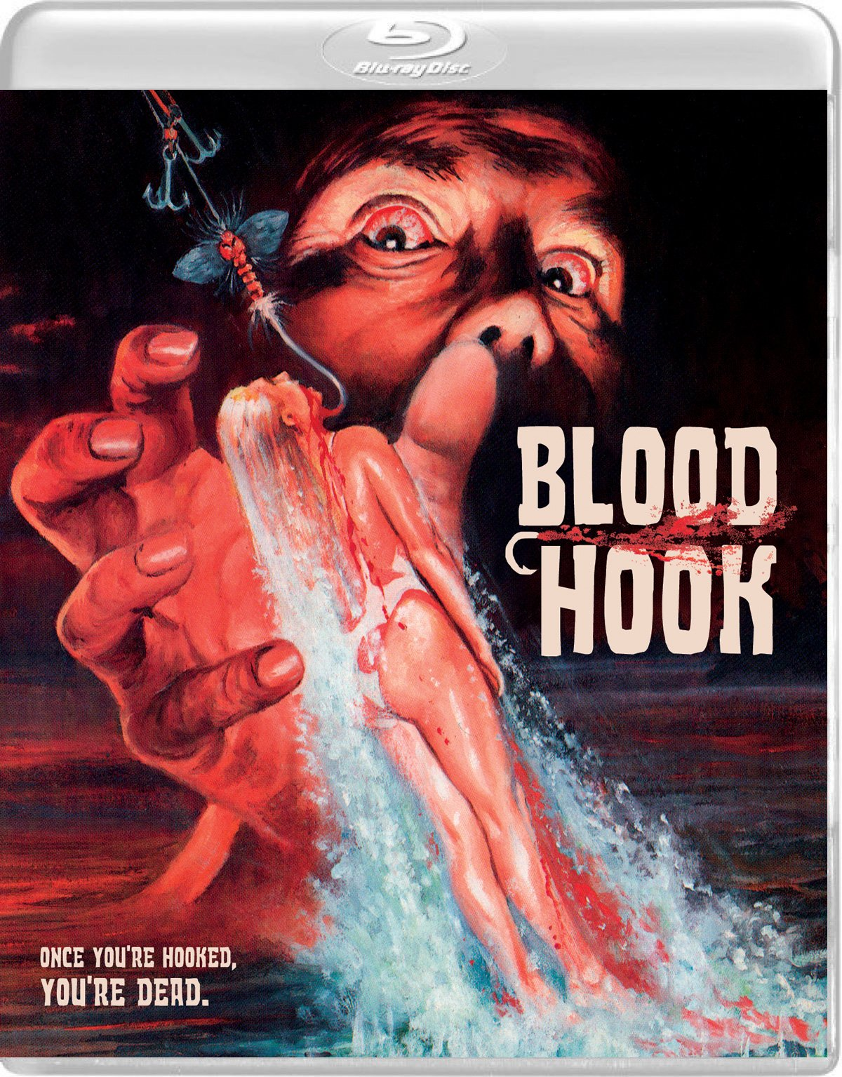 Blu-ray : Blood Hook (With DVD, 2 Pack, Widescreen, 2PC)