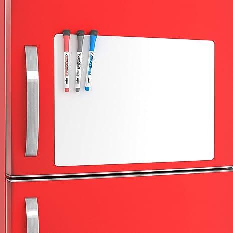 amazon com large fridge whiteboard 11x17 magnetic sheet calendar